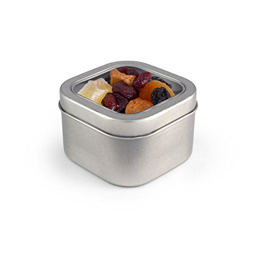 Trail Mix, Cranberry Cocktail, Square Window Medium Tin 48ct/5oz