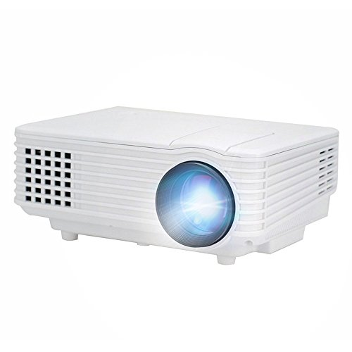 OEM H1 LED LCD (WVGA) Mini Video Projector - US Version (Includes Warranty) - White (FP8048H1W)