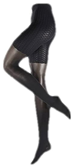 33e61b1fac2 Falke Womens Cellulite Control 50 Denier Transparent Matte Tights - Black -  Large