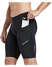 BALEAF Men's Cycling Shorts 3D Padded Bicycle Bike Quick-Dry Pants Tights UPF 50+