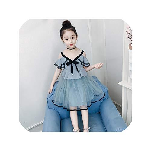 Dress Summer Sleeveless Bow Ball Gown Clothing Kids