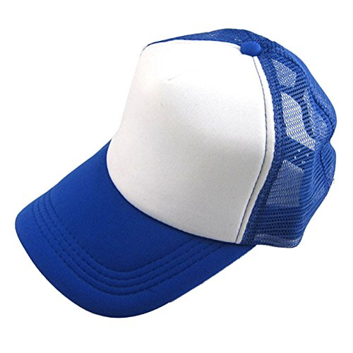 Quaanti Clearance Price!Unisex Casual Hat Solid Baseball Cap Trucker Mesh Blank Visor Hat Adjustable  (I)