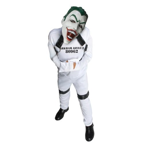 Joker Girl Halloween Costume (DC Super Villain Collection Joker Straight Jacket Costume, Small)