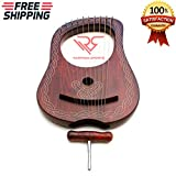 Irish Lyre Harp 10 String Piping Harp│10 Metal