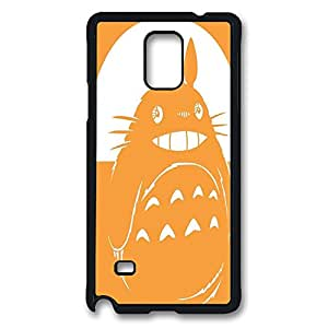 samsung note 4 Case, note 4 Case, Shock-Absorption Back Case for samsung note 4 Totoro Illustration Scratch Hard Back Case for samsung note 4