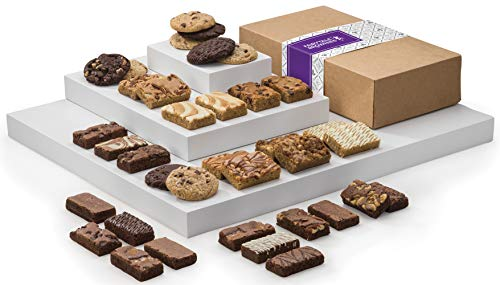 - Fairytale Brownies Ultimate Bar, Sprite & Cookie Combo Gourmet Chocolate Food Gift Basket - 3 Inch x 1.5 Inch Snack-Size Brownies Plus Blondie Bars and Cookies - 36 Pieces - Item LF366