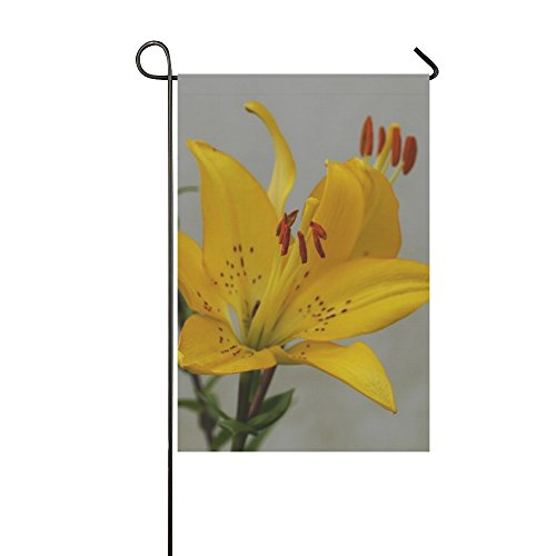 Home Decorative Outdoor Double Sided Yellow Leaf Fall Autumn