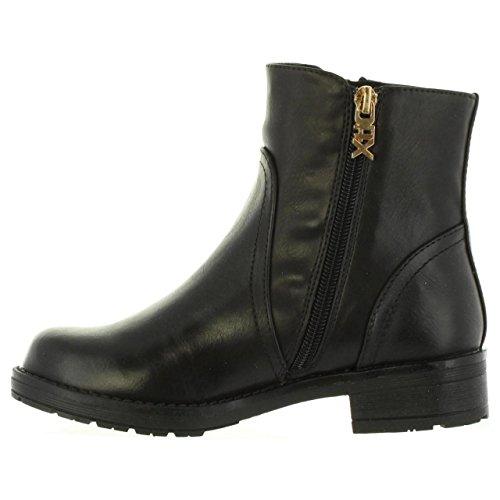XTI Mädchen 053968 Booties Black (Schwarz)