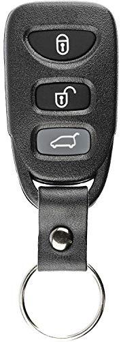 KeylessOption Keyless Entry Remote Control Car Key Fob Transmitter Strap for Kia Sorento Rondo PLNHM-T011