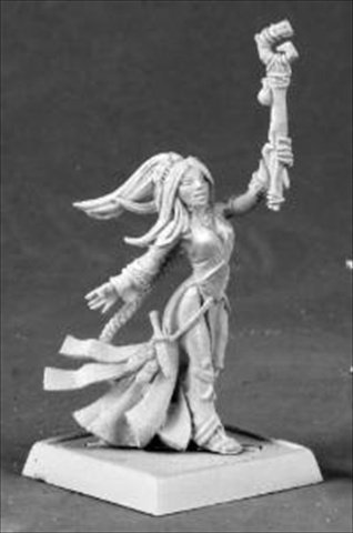 Reaper Miniatures 60034 Pathfinder Series Seoni Female Iconic Sorceress Miniature