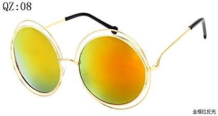e5cf285c25 2017 Vintage Round Big Size Oversized lens Mirror Brand Designer Sunglasses