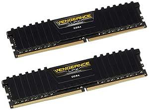 Corsair (CMK8GX4M2A2400C14) Vengeance LPX 8GB (2x4GB) DDR4 2400Mhz CL14 XMP 2.0 High Performance Desktop Memory Kit Black