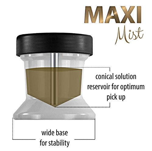 Maxi-Mist Lite Plus HVLP Sunless Spray Tanning KIT Tent Machine Airbrush Tan Maximist BRWN by MaxiMist (Image #9)