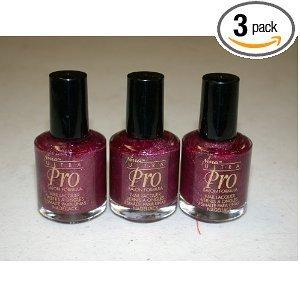 Amazon.com : Nina Ultra Pro Nail Polish -Bordeaux- ~ (3-Pack) : Beauty