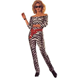 Rubie's Costume Co NLP Adult Zebra Catsuit Costume, Large, Large