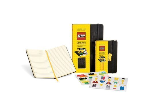 Lego Limited Edition Yellow Brick Pocket Ruled Black Cover by Moleskine (Jan 2 2012) ()