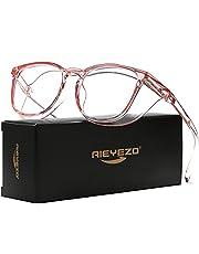 AIEYEZO Safety Glasses for Women Anti-Fog Goggles Oversize Anti-Blue Light Nurse Protective Glasses