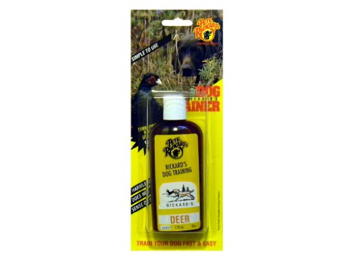 Dog Tracking Kit - Pete Rickard's Dog Training Deer Scent, 4-Ounce