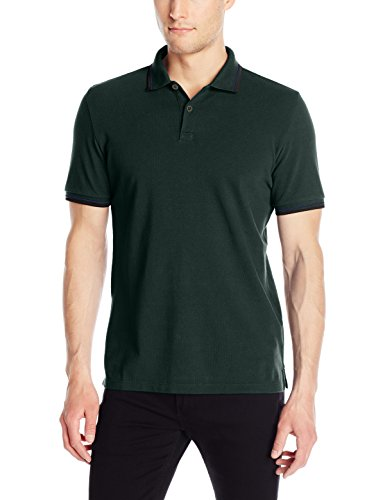ben-sherman-mens-solid-polo-shirt-with-contrast-tipping-pine-grove-small
