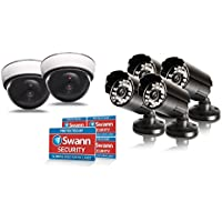 Swann SWADS-TPCKIT-us Theft Prevention Kit (White)