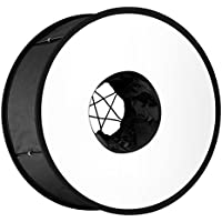 Neewer Round Universal Collapsible Magnetic Ring Flash Diffuser Soft Box 45cm/18 for Macro and Portrait Photography