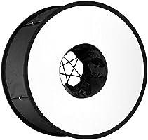 Neewer 45 cm Ronde Universele Opvouwbare Magnetische Ring Flash Diffuser Soft Box voor Macro en Portretfotografie