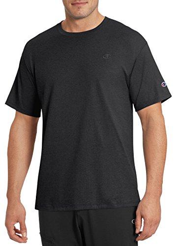 Champion Men's Classic Jersey T-Shirt, Black, M from Champion