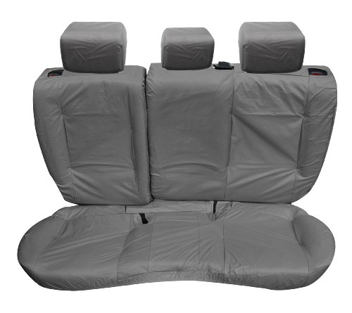 Inka Evoque 5 Door Fully Tailored Waterproof Rear Seat Covers with Centre Armrest 2011-2016 Heavy Duty Right & Left Hand Drive Grey - INK-WSC-3596: