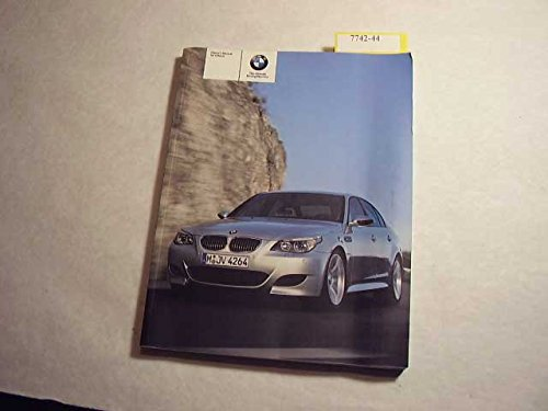 2006 BMW M 5 Owners Manual