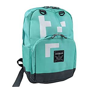 Minecraft Childrens/Kids Official Diamond Backpack (UK Size: One Size) (Bright Turquoise)
