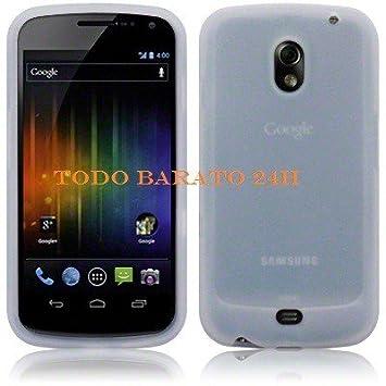 Todobarato24h Funda Silicona Blanca Compatible con Samsung Galaxy ...