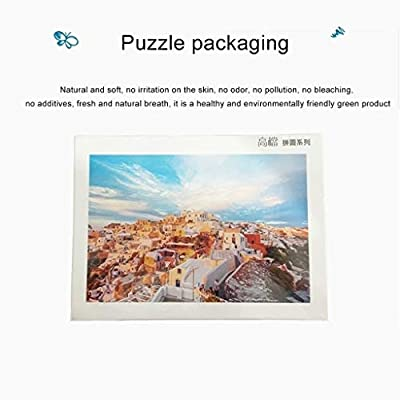 Jigsaw Puzzle 5000 Pieces of Cinque Terre Spring Scenery Puzzle Children's Adult Educational Toys Wooden Gift Puzzle (Color : A, Size : 2000 Pieces): Home & Kitchen