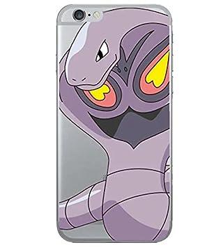 iPhone 5c Pokemon Caja del Silicón / Arbok Cubierta del Gel ...