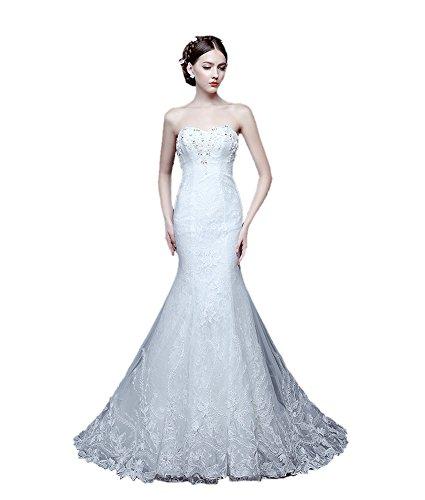 感心する団結する輝くウエディングドレスマーメイド蝶のウェディングベールの高級花嫁ブライズメイド服結婚するセクシ ーで美しいドレス スリム呼ばれ dress 尾行年のドレス