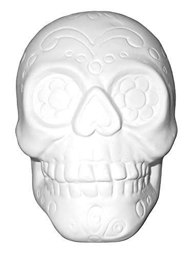 Halloween Pottery To Paint (Sugar Skull - Paint Your Own Ceramic)
