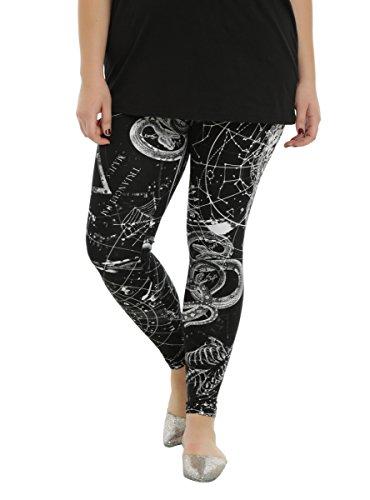 Black Astrology Leggings Plus Size