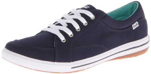 Keds Womens Vollie Ltt Sneaker Navy Canvas
