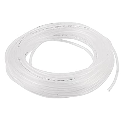 uxcell 4mm x 2.5mm Pneumatic Air Compressor Tubing TPU Hose Tube Pipe 9.8m Clear