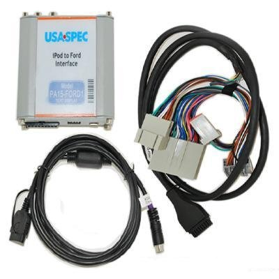 USA SPEC (PA15-FORD1) iPod to Factory Radio Wired Music Interface with AUX (RCA) Port for 05-09 Ford/Lincoln/Mercury w/o ()