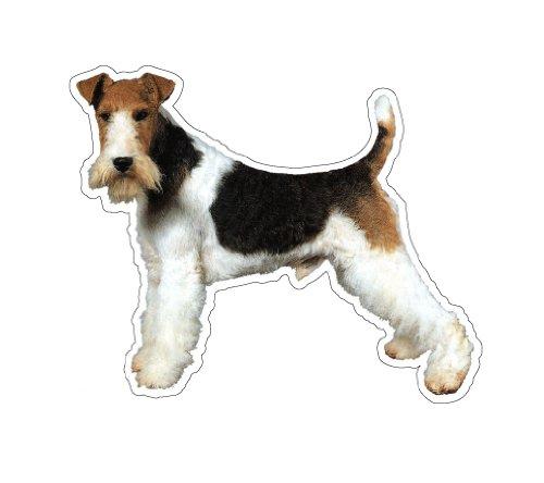 WIRE FOX TERRIER - Dog Decal - sticker car got dogs (Smooth Fox Terrier Sticker)