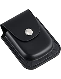 3572-6 Black Leather 56mm Pocket Watch Holder
