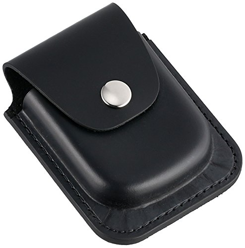 Charles-Hubert, Paris 3572-6 Black Leather 56mm Pocket Watch Holder from Charles-Hubert, Paris