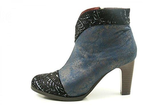 Laura Vita SL316-3B Albane 300 Womens Boots Leather BLAU sgRJ1vk