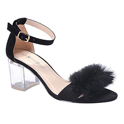 2 1/2 Inch Heel Fur - 6