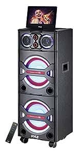 Amazon Com Pyle Pkrk215 Bluetooth Pa Loudspeaker Karaoke