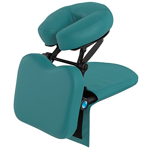 EARTHLITE Travelmate Massage Support System Package - Face Down Desk & Tabletop Massage Kit, Vitrectomy recovery equipment, Teal (Product Mattress Set Premiere)