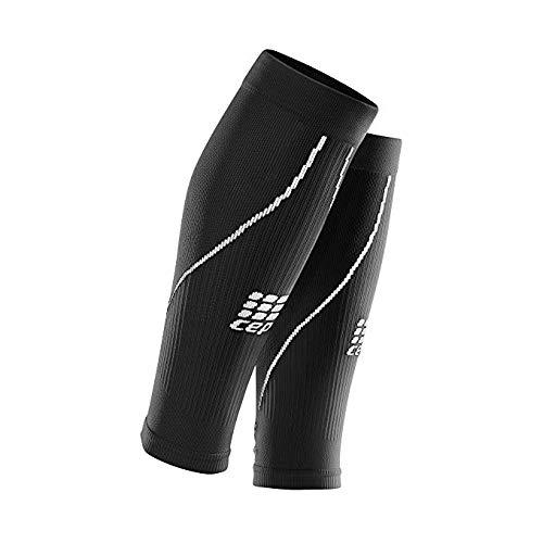 82aead3932 CEP Men's Calf Compression Sleeves Running 2.0 (Black/Grey) III