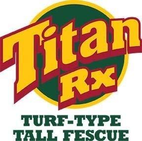 Titan RX 50 LB (Titan Rx Tall Fescue Grass Seed With Rhizomes)