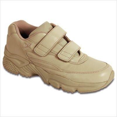 Aetrex Men's X926 Athletic Walker Walking Shoes,White Leather,6.5 XW