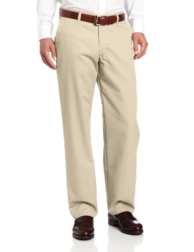 Lee Men's Total Freedom Relaxed Fit Flat Front Pant - 38W x 30L - ()